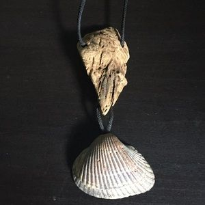 Jewelry - Driftwood and Shell Necklace